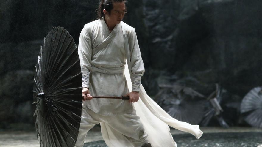 Deng Chao en el papel Jingzhou, una marioneta en manos de Zi Yu