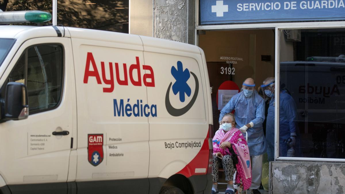 La pelea diaria contra el coronavirus en Argentina