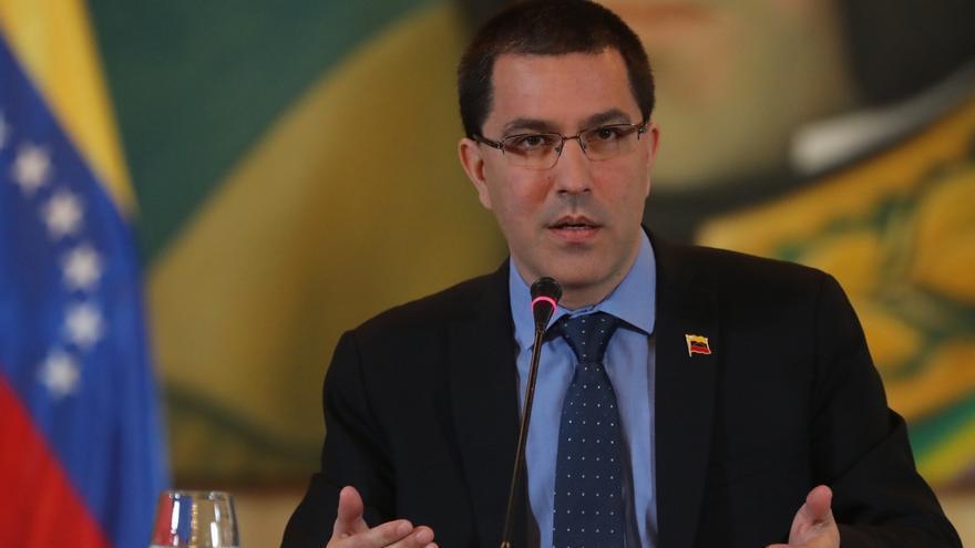 En la imagen, el canciller de Venezuela, Jorge Arreaza.