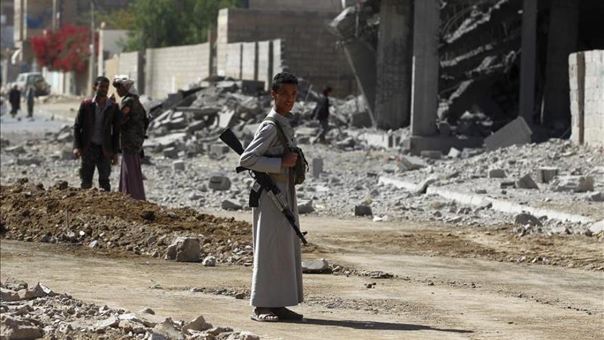 Mueren 10 civiles en un bombardeo de la coalición árabe en el norte del Yemen