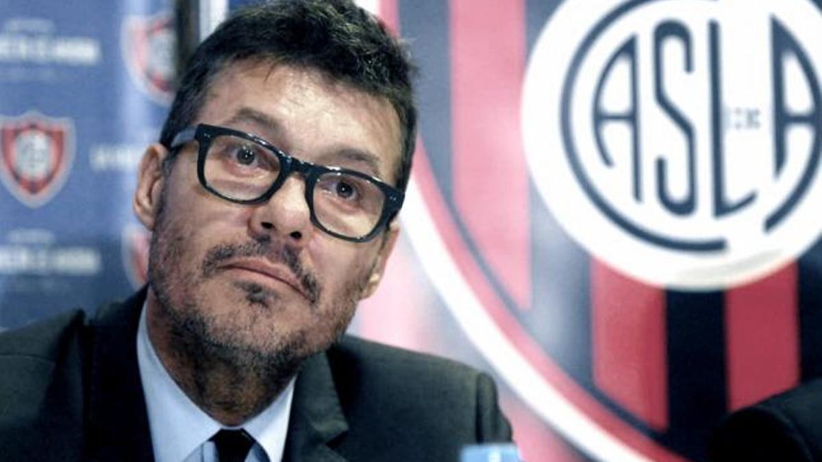 El conductor televisivo Marcelo Tinelli