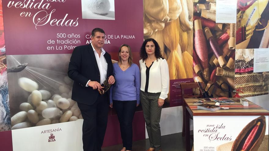 Andre´s Carmona, Susana Machín y Jovita Monterrey, este jueves.