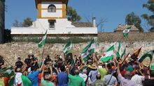 """Dos marchas ciudadanas piden la devolución """"al pueblo"""" del patrimonio expoliado por el franquismo"""