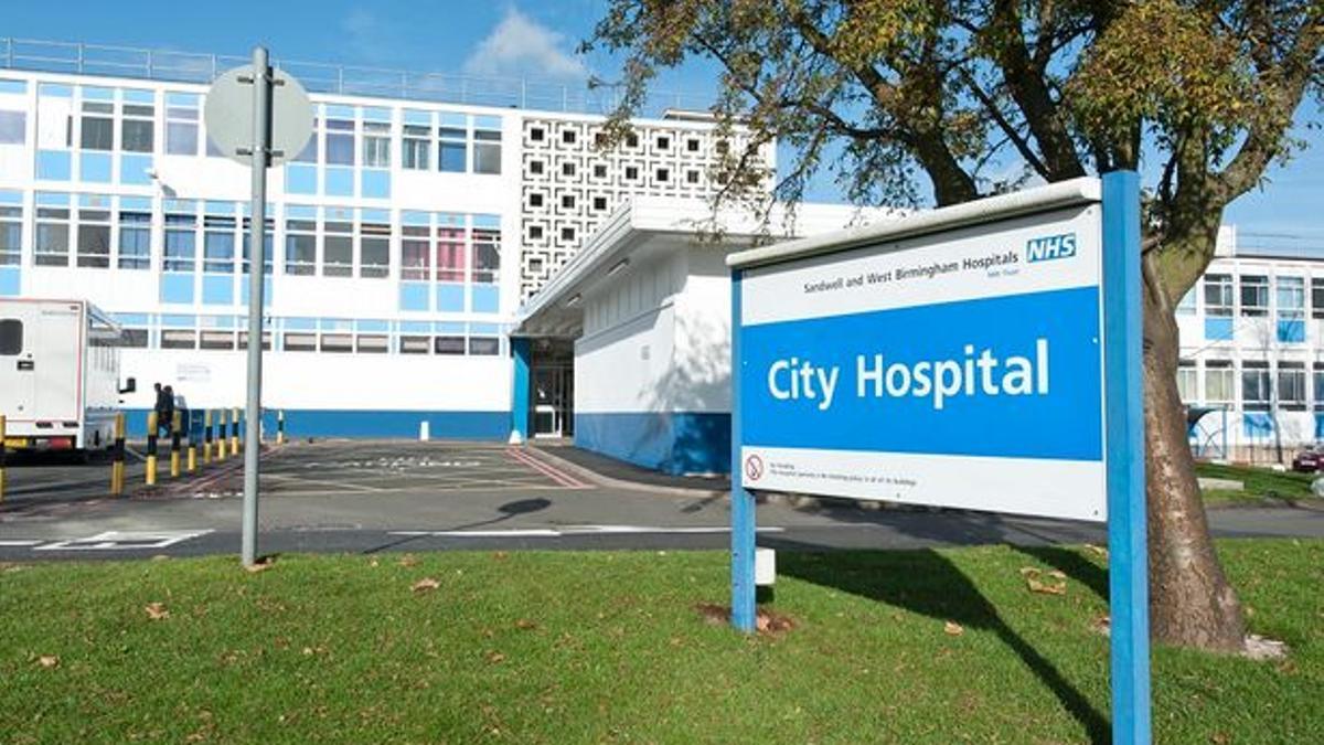Un hospital de la NHS