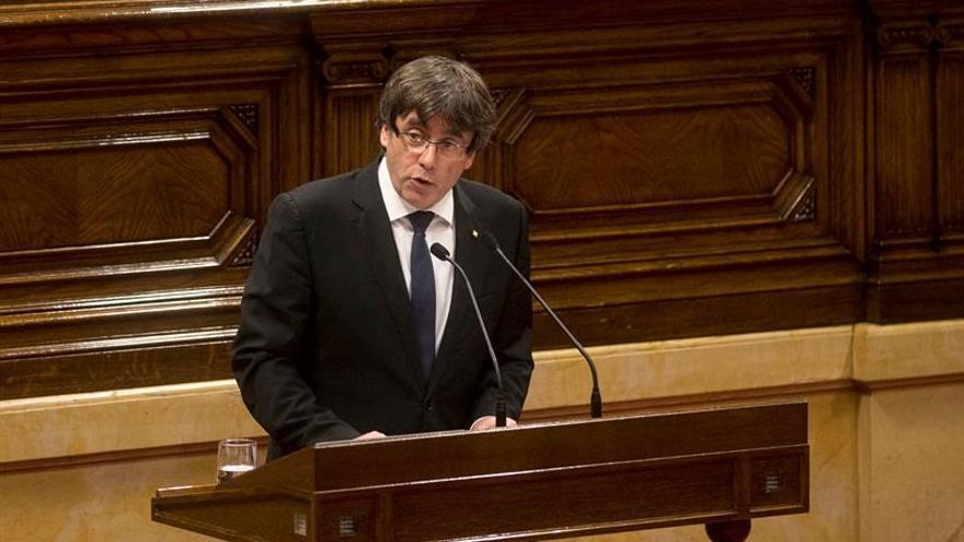 Puigdemont podrá comparecer en el Senado entre el martes y el jueves