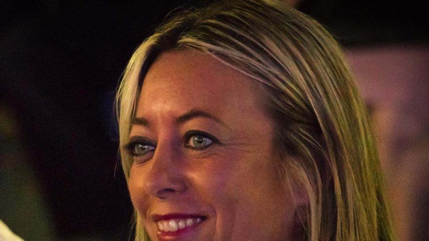 María de Haro, portavoz del grupo Popular en el Cabildo de La Palma.