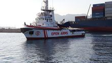 Barco de Open Arms atraca en Motril para un periodo que dependerá de las emergencias humanitarias