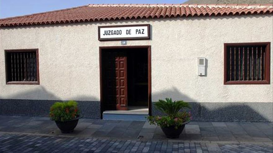 Sede del Juzgado de Paz de la Villa Histórica de Santiago del Teide.