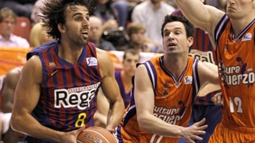 El Barça Supera A Un Correoso Valencia Basket
