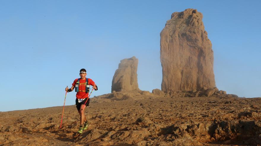 La Transgrancanaria 125km 2017. Alejandro Ramos.