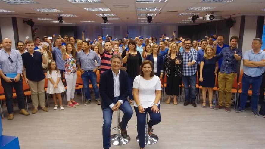 Rubén Moreno e Isabel Bonig han presentado las nuevas afiliaciones
