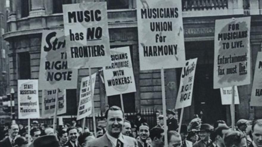 El primer sindicato de músicos