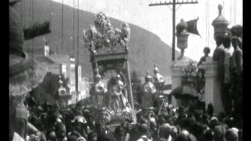 Fotograma de un documental de Nieves Lugo (1908-1958).