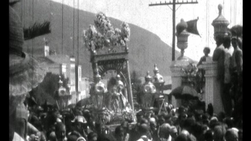 Fotograma de un documental de Nieves Lugo (1908-1958).