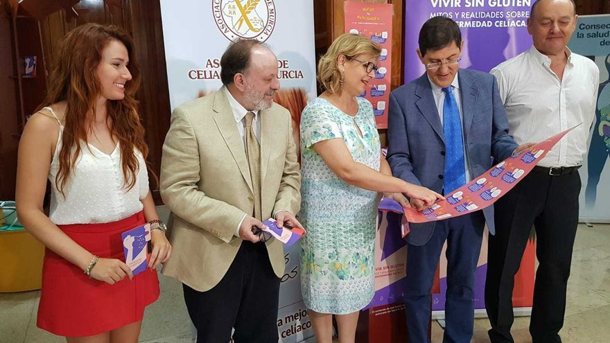Presentación del convenio de colaboración para el apoyo a los celiacos