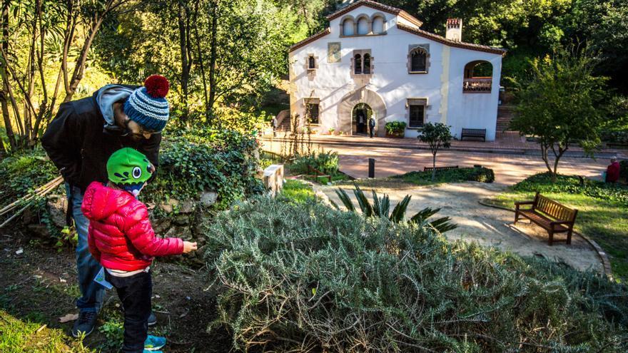Parc Botànic Històric, a Barcelona