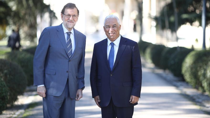 """Rajoy da un """"toque ibérico"""" al almuerzo del Consejo Europeo para conmemorar los 30 años de España y Portugal en la UE"""