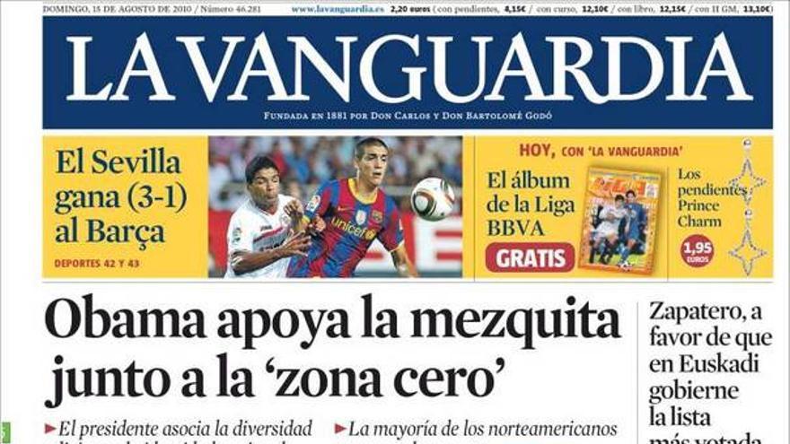 De las portadas del día (15/08/2010) #11