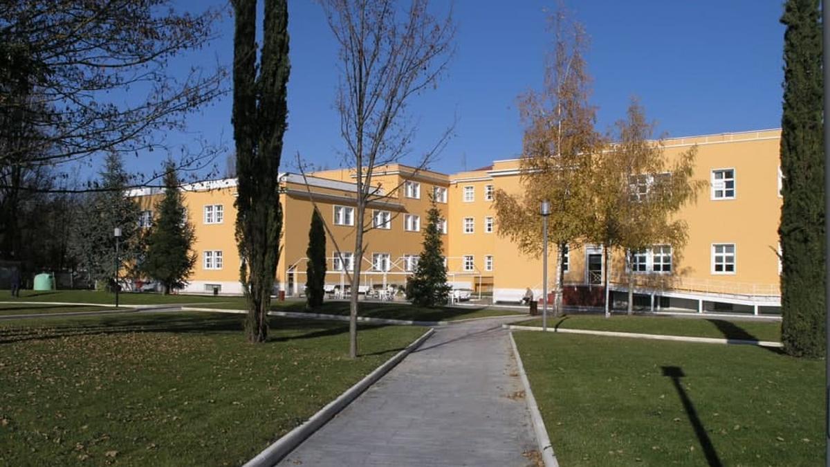 Vista exterior del hospital psiquiátrico de Vitoria