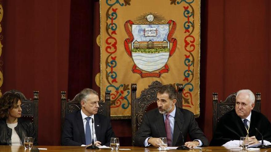 El Rey preside la celebración del centenario de La Comercial de Deusto