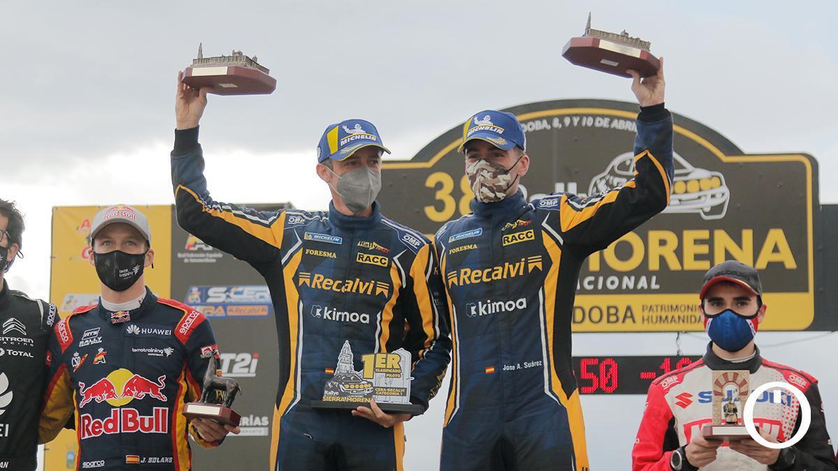 José Antonio Suárez y Alberto Iglesias, vencedores.