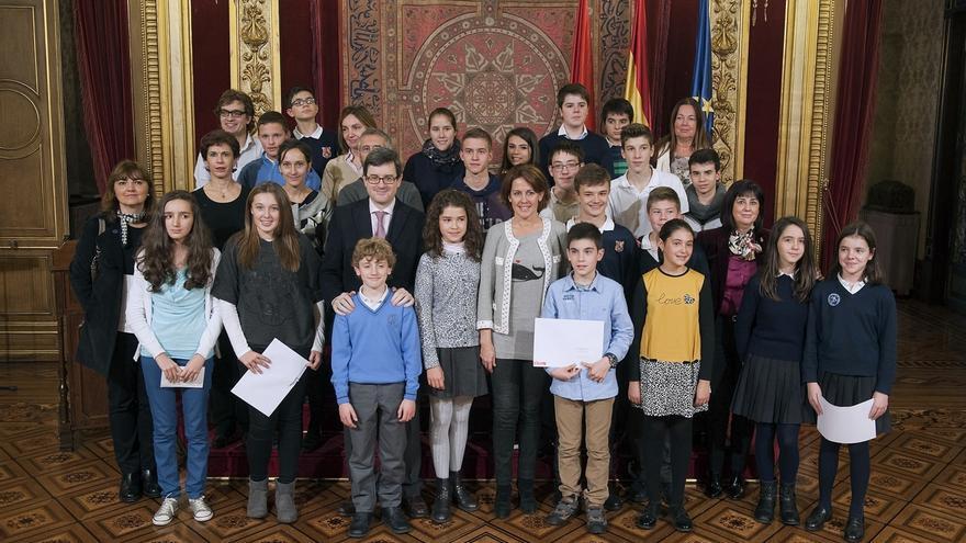 El Gobierno foral premia los diez trabajos escolares que mejor promocionan Navarra como destino turístico