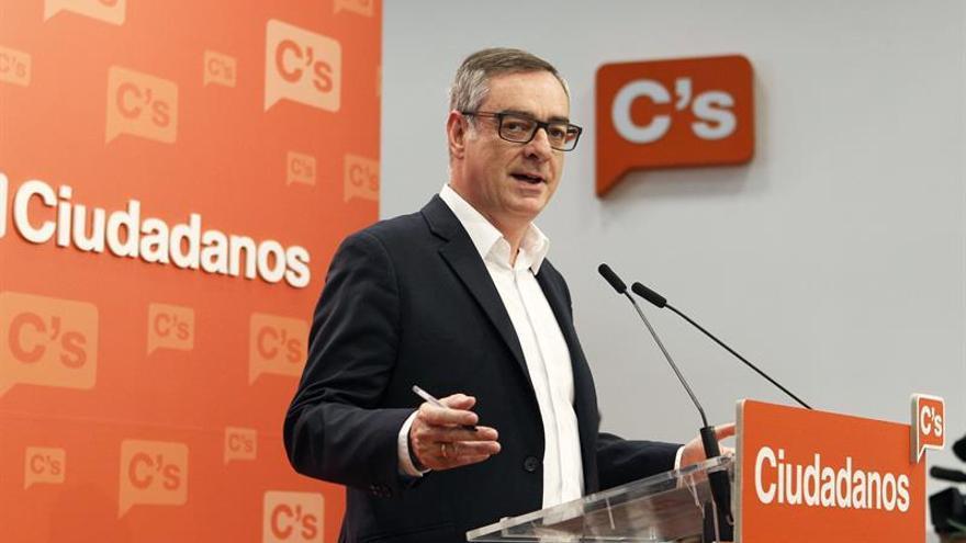"""Ciudadanos dice que unas terceras elecciones serían """"un horror"""" para España"""