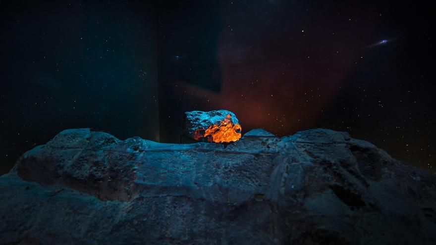 Meteorito 'València',  con un peso de 33 kilogs y 4.600 millones de años