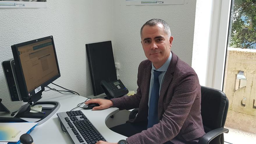 Miguel Saro, portavoz de Unidas por Santander.