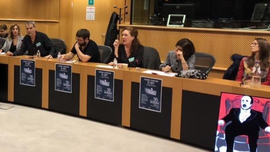 Debate en el Parlamento Europeo sobre el 20N.
