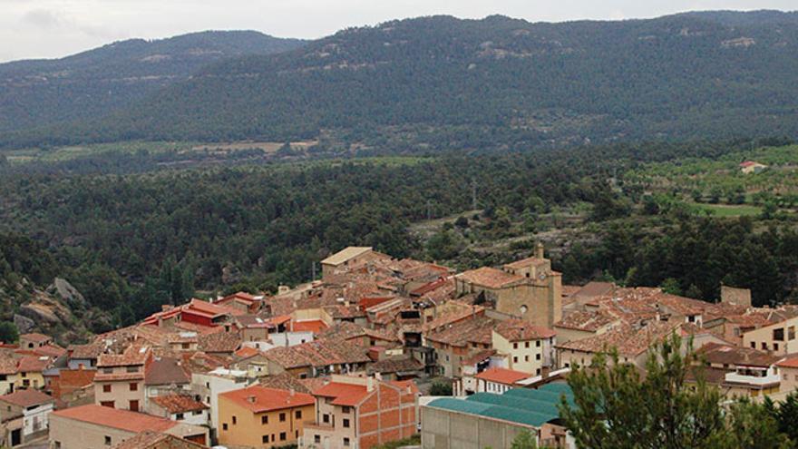 Ráfales sería uno de los pueblos afectados por el proyecto de parques eólicos.