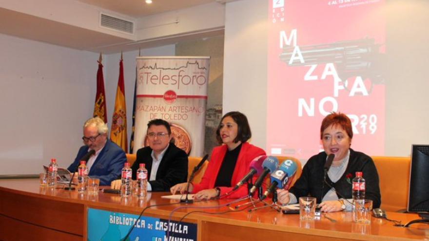 Inauguración de Mazapanoir 2019 / Biblioteca de Castilla-La Mancha