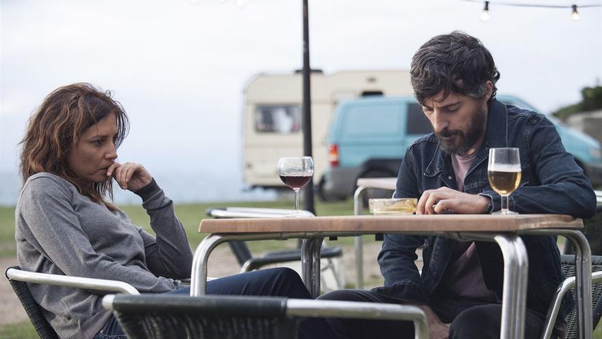 Marián Álvarez y Andrés Gertrudix, en una escena de la película 'Morir'