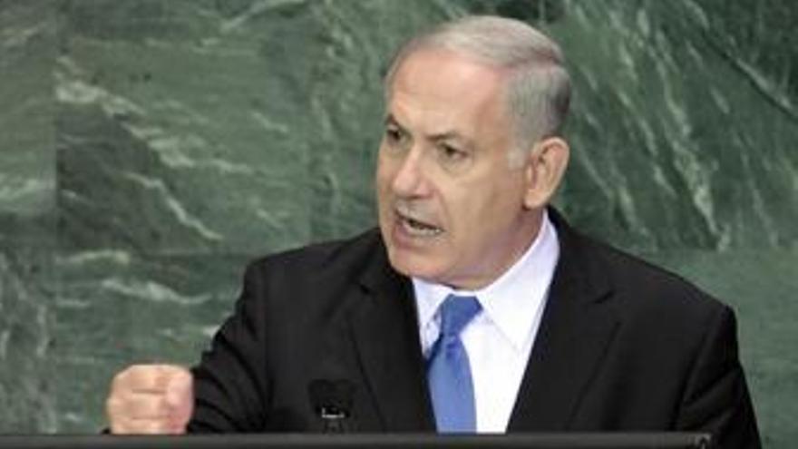 Benjamin Netanyahu en la ONU