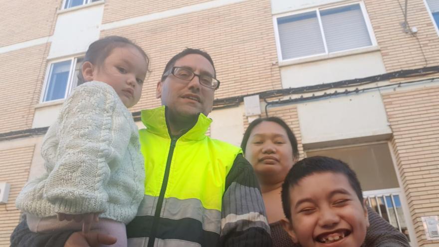 Los repobladores de Used. Santiago y su familia