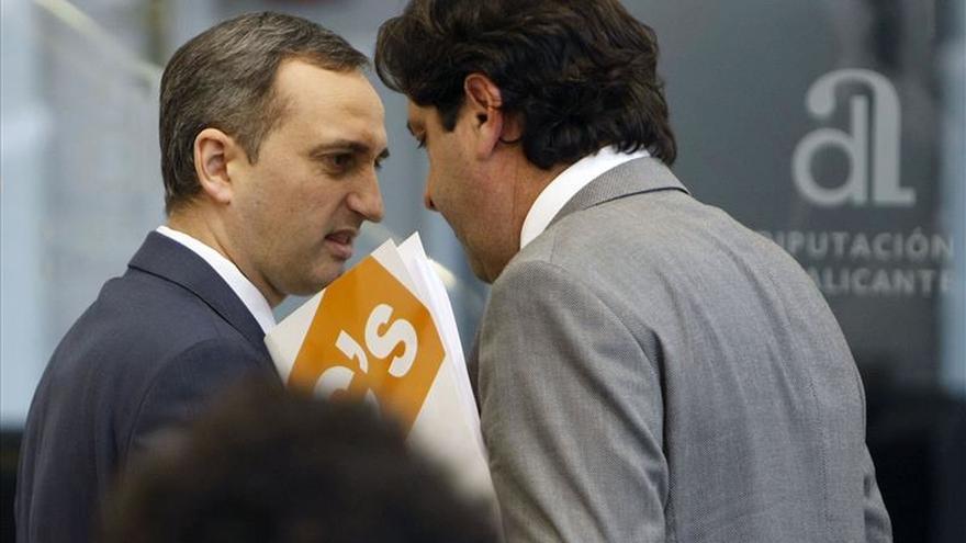 C's rompe con el PP en la Diputación de Alicante por dar cargos a 2 imputados