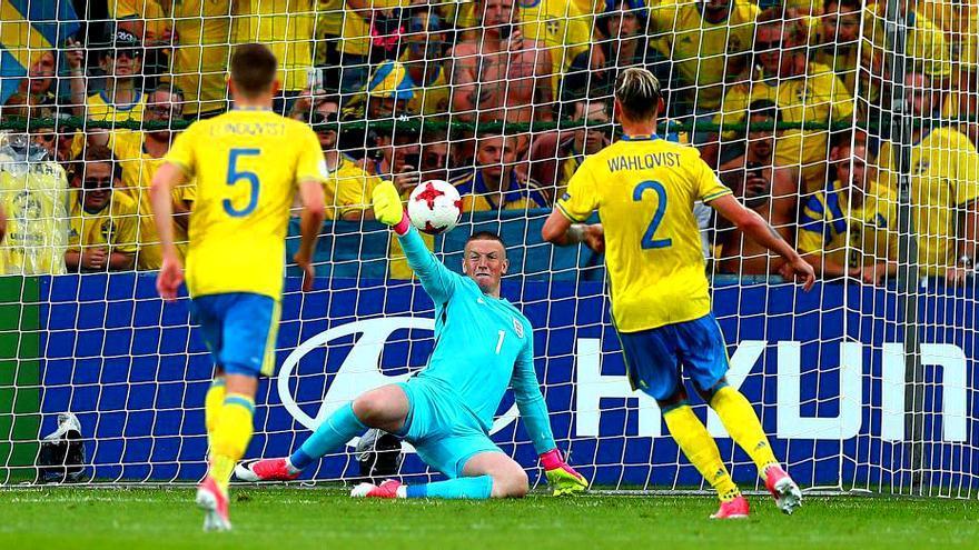 Suecia-Inglaterra de la Eurocopa sub 21