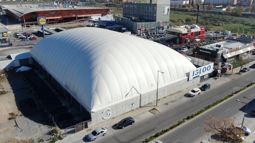 IDEA apoya la conversión del palacio de hielo de Pulianas en centro de tecnificación deportiva