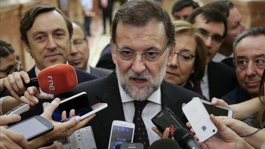 """Rajoy considera """"falso"""" e """"injusto"""" atribuir al Gobierno la imputación de Mas"""