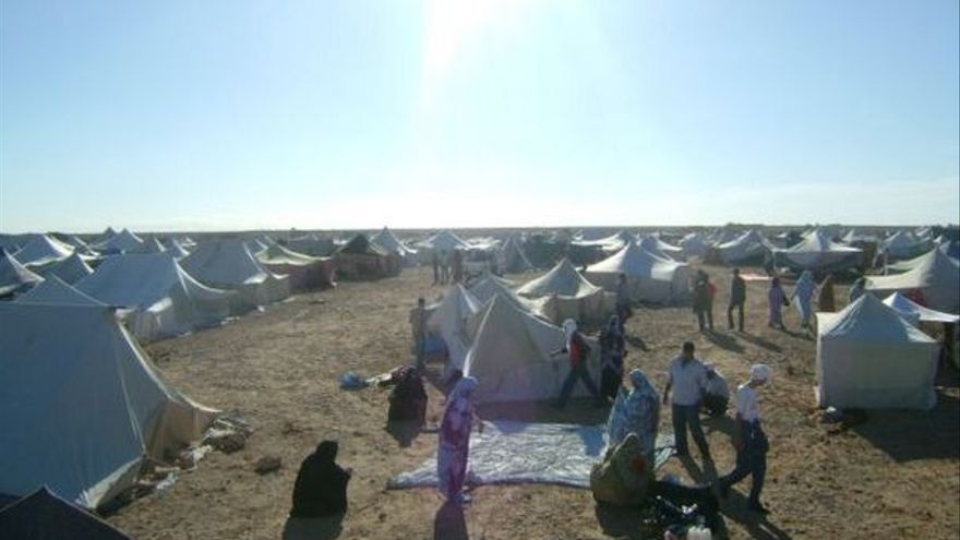 Del campamento protesta #9