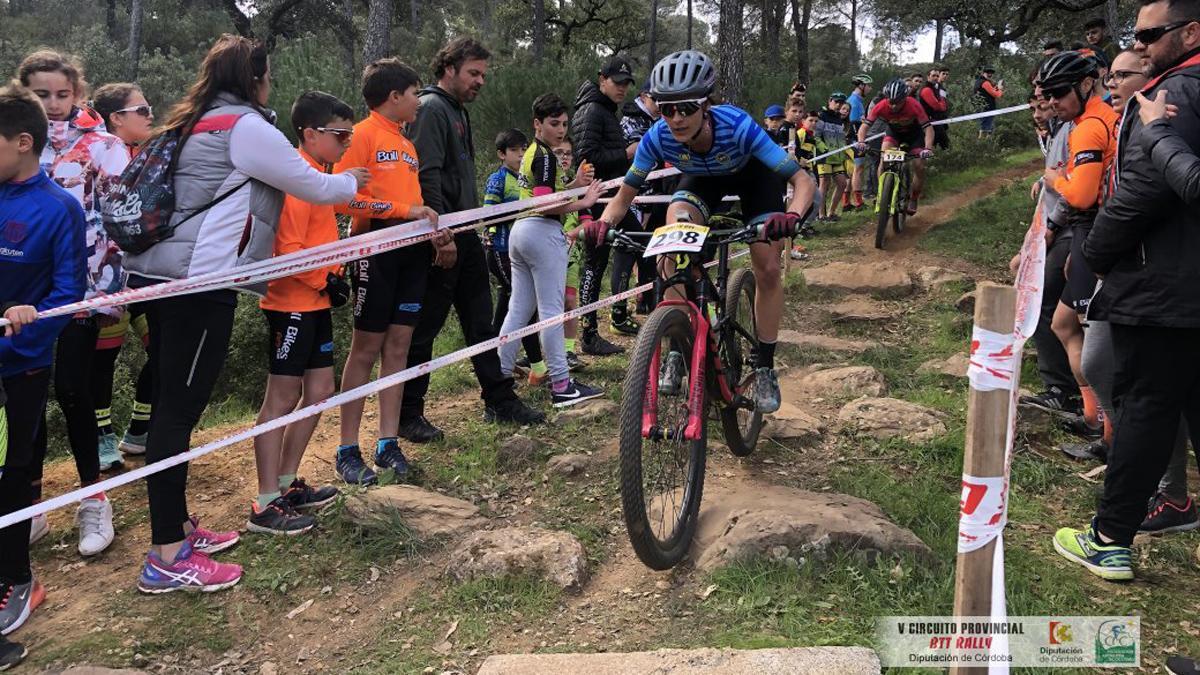 'Biker', en la anterior edición del Rally Cerrobike.
