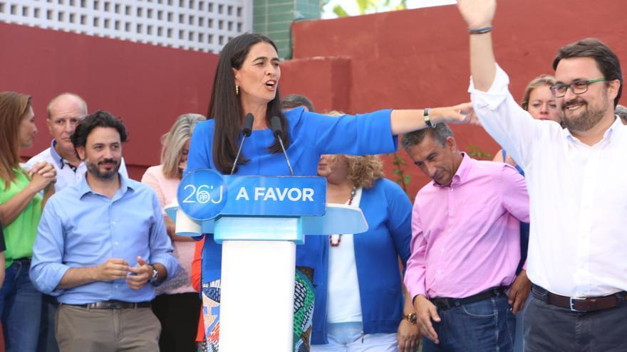 La candidata del PP al Congreso de los diputados por Las Palmas, María del Carmen Hernández Bento.(ALEJANDRO RAMOS)