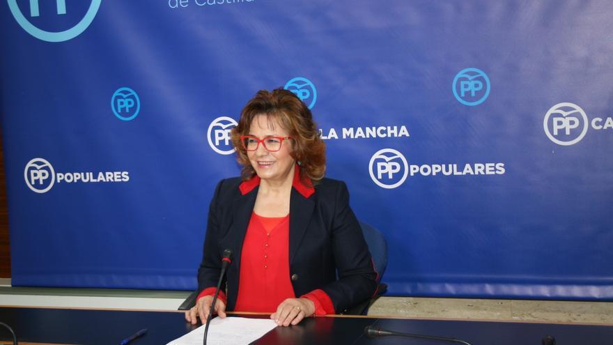 Carmen Riolobos en rueda de prensa