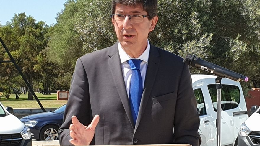 Marín descarta que Vox entre en el gobierno de Granada para evitar una moción de censura