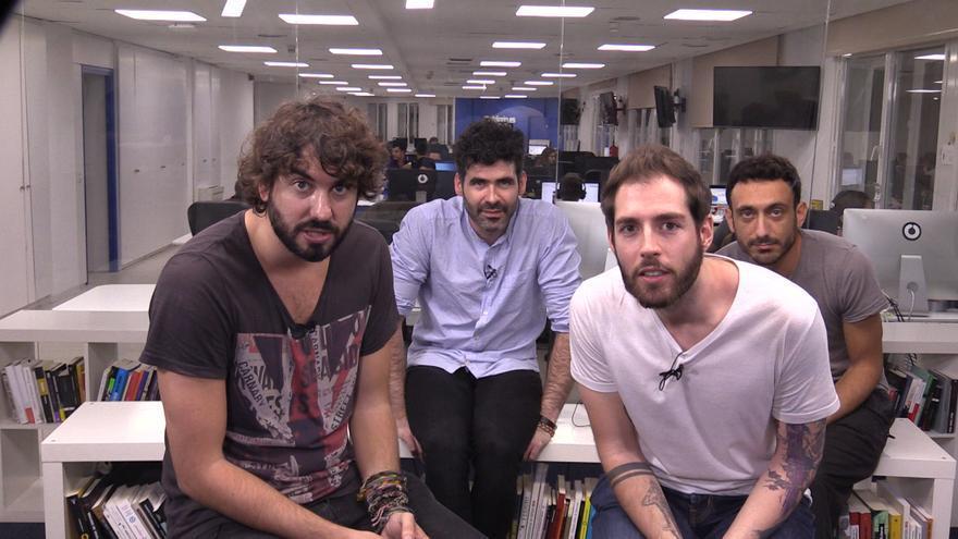 IZAL asalta la redacción de eldiario.es