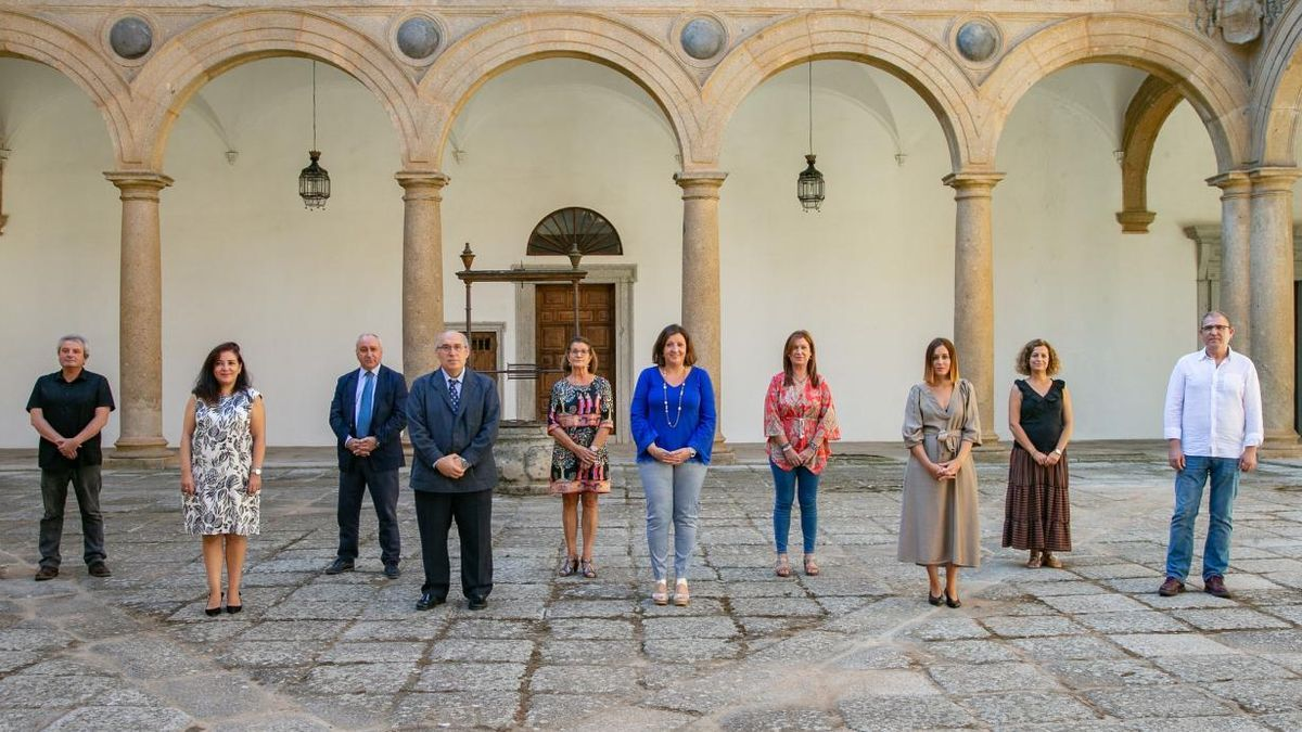 Foto de los organizadores de FARCAMA en el Palacio Tavera de Toledo