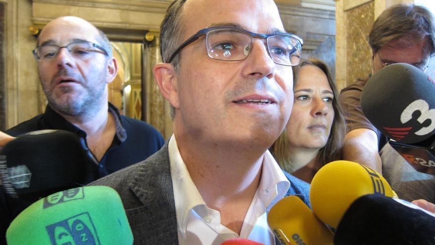 """Turull (JxSí) asegura que la presidenta del Parlamento catalán ha cumplido """"estrictamente"""" la legalidad"""