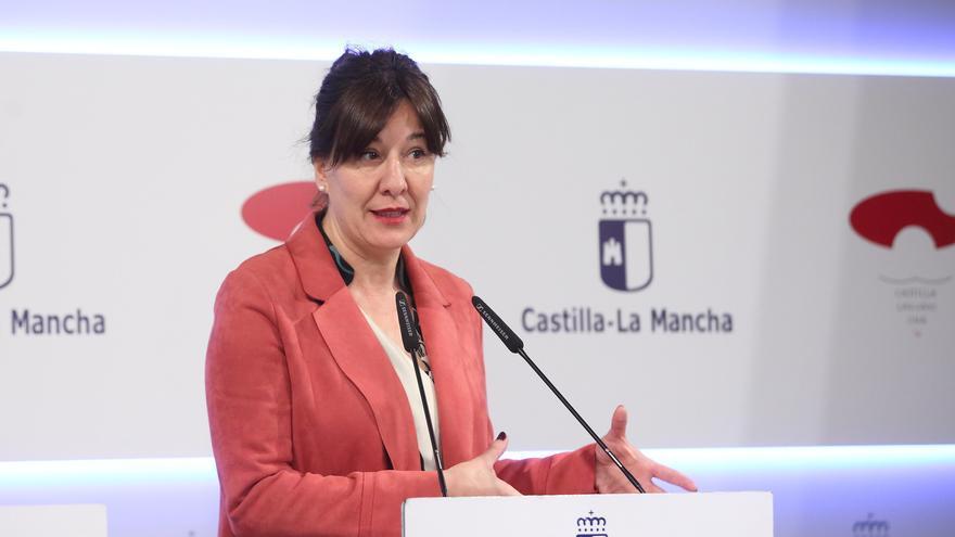 La portavoz del Gobierno regional, Blanca Fernández