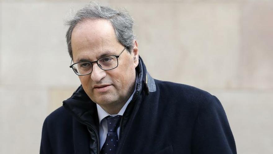 El presidente de la Generalitat, Quim Torra.
