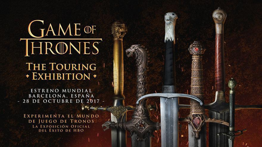 La mayor exposición de Juego de tronos iniciará su gira mundial en Barcelona